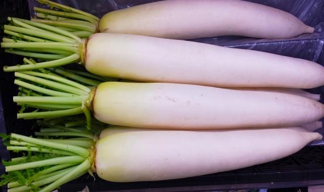 冬野菜の美味しい大根